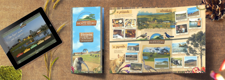 Imagem Branding Pousada Fazenda Monte Negro