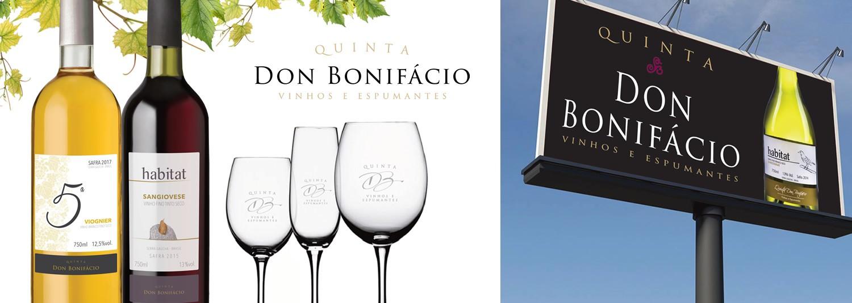 Imagem Branding Vinícola Quinta Don Bonifácio
