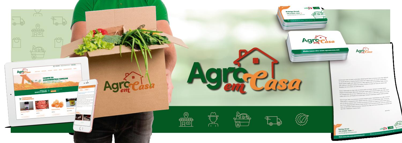 Imagem Branding Agro em Casa