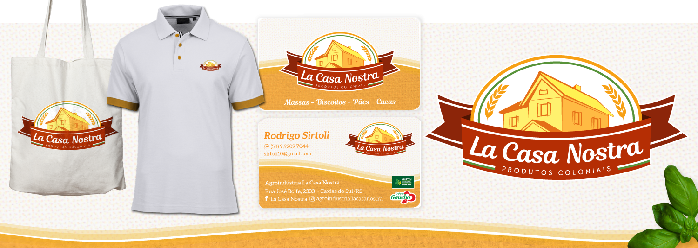 Imagem Branding La Casa Nostra