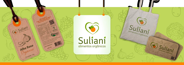 Imagem Branding Orgânicos Suliani