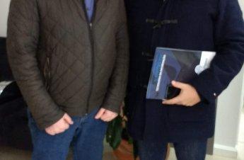 Coordenador João Neves De Boni Junior e Isidoro Fantin