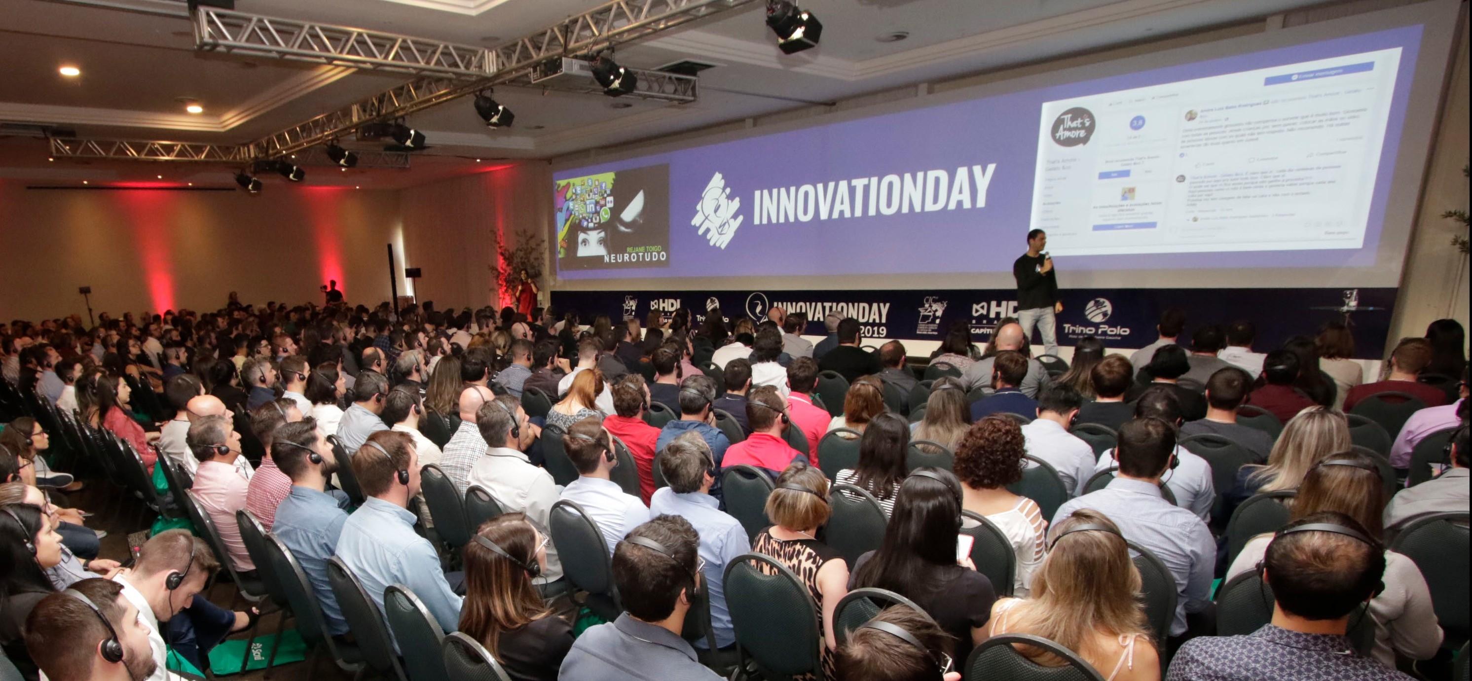 Foto da notícia Innovation Day 2019 reúne 460 pessoas para repensar a inovação em Caxias do Sul