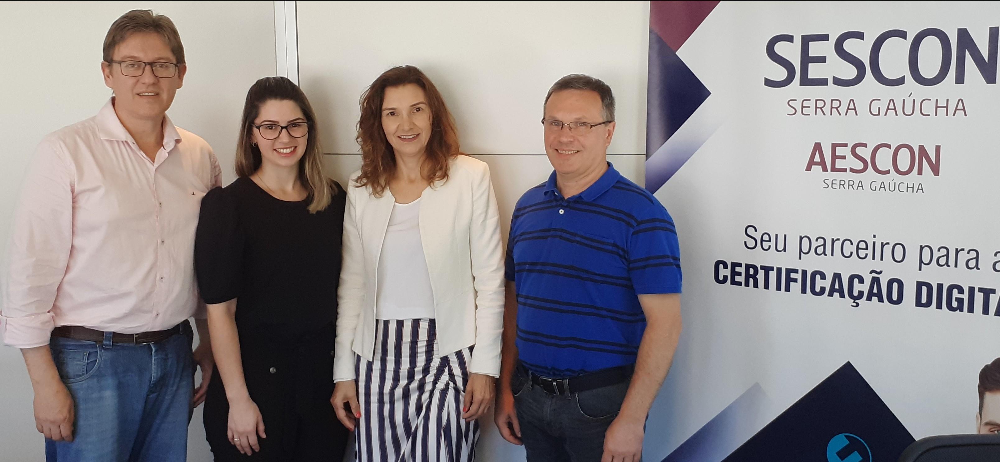 Trino Polo  e Sescon Serra Gaúcha criam Grupo de Estudos