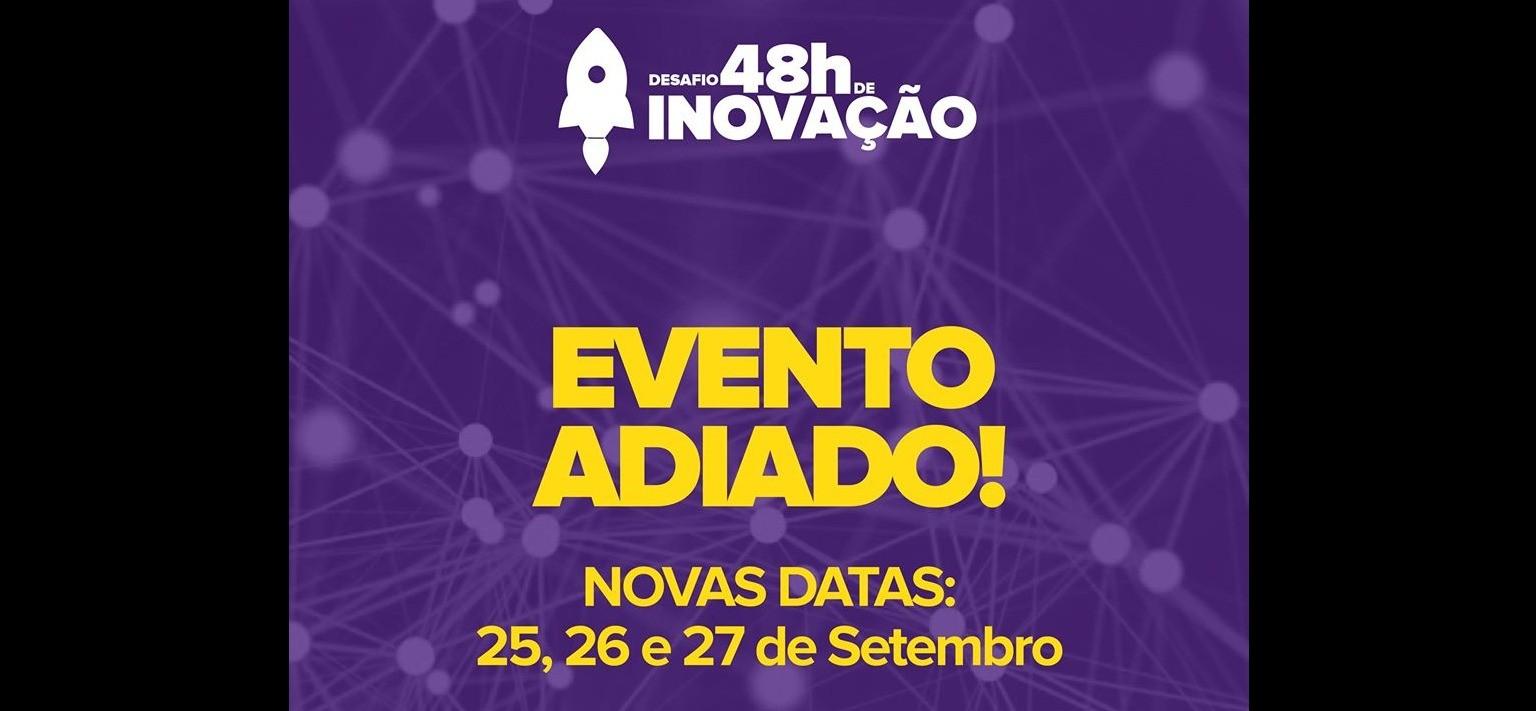 Foto da notícia Desafio 48h de Inovação acontecerá em Setembro