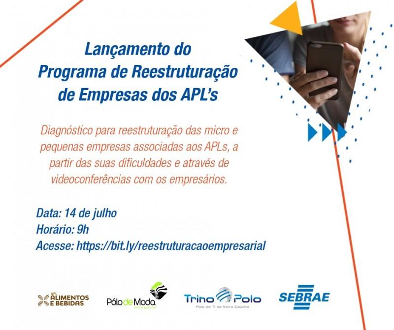 Foto: Arranjos Produtivos Locais lançam programa para reestruturação para micro e pequenas empresas das região.