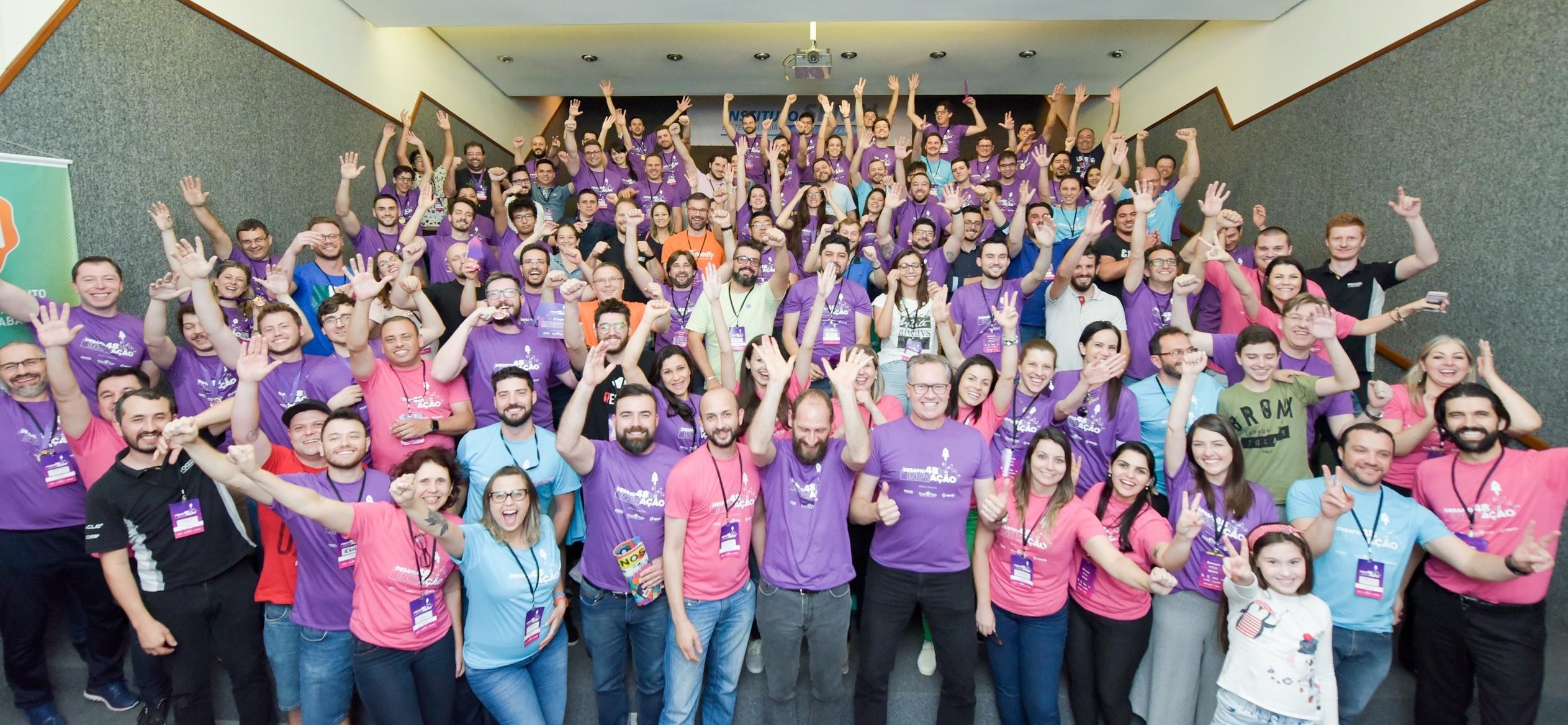 Desafio 48h de Inovação movimenta profissionais de diversas áreas