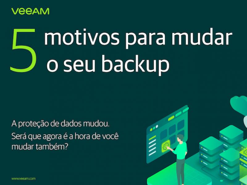 Foto de capa: 5 motivos para mudar o seu backup