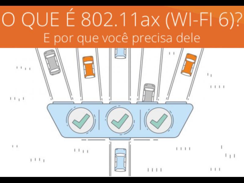 Foto O que é 802.11ax (WI-FI 6)?